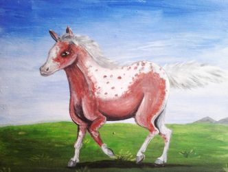 Painted Mare by Louisetheanimator