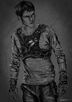 The Maze Runner - Thomas by lost-iink