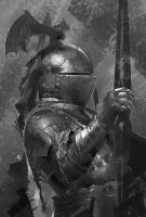 knight Photo study Sketch by Zudartslee