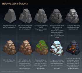 Rock Painting Tutorial 2.0 by thiennh2
