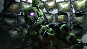 (FNaF SFM) Insanity takes over. by Ferg-E