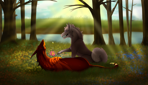 Enjoying Spring - Collab [Reos-ARPG] by Arinatira