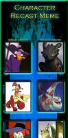 Character Recast - Darkwing Fury by ScarletSpike