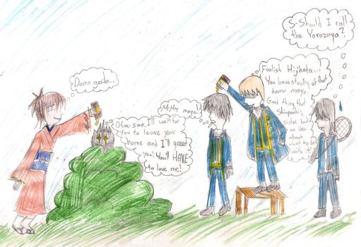 A Normal day in Gintama's universe by Natsuzora-chan