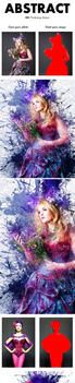 Abstract Ink Photoshop Action by GraphicAssets
