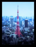 The Tokyo Tower by cryblue