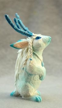 Frost King Jackalope by hontor