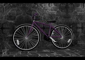 purple bike by Nadia-design