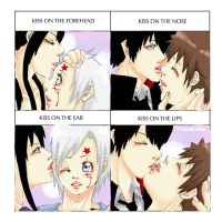 Kiss meme: Yullen and 1827 by Shion-Tan