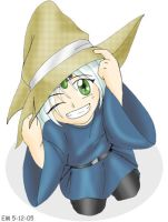 Young Ben Black Mage by Aywren