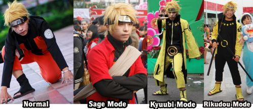 Cosplay Naruto Shipuudent all form by ducmu
