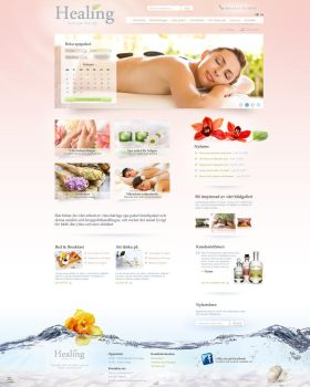 Spa website by gauntler