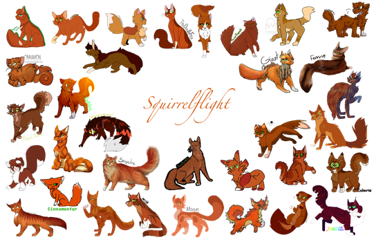AWCC #26 Squirrelflight by LotusLostInParis