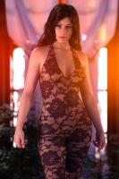 Gina in lace 2 by FranPHolland