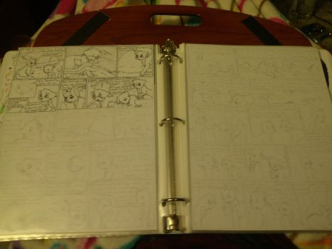 Sneek Peak Of Pages 7 and 8 by awcomicart