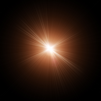 High Quality Lens Flares in PNG 02 by genivaldosouza
