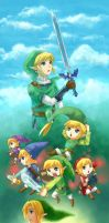 25 years of Legend of Zelda by anocurry
