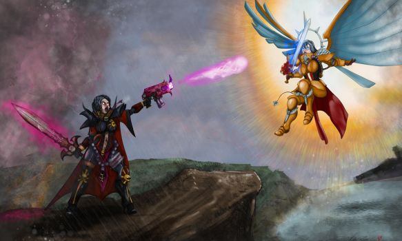 Clash of Titans by TheJoeybird