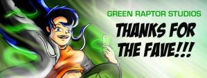 Thanks For The Fave by GreenRaptor15
