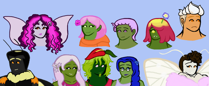 Few Misc AT Ocs by Moonstone27