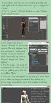 Setting a Scene to Render in Octane for Poser by katlienc
