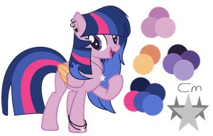 .: Oc :. Silver Star New Ref by Mlp-Magical-Melody
