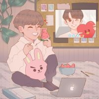 distant relationship | vkook by keiyaumi