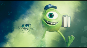 Monsters, INC Sign by wh47