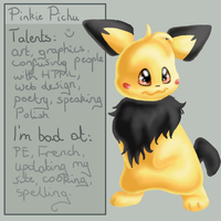 Finally, a new ID :D by Pinkie-Pichu
