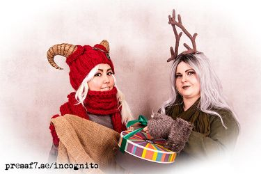 A very merry Incognito holiday! by PressF7