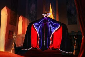 The Evil Queen's Entrance by countess1897