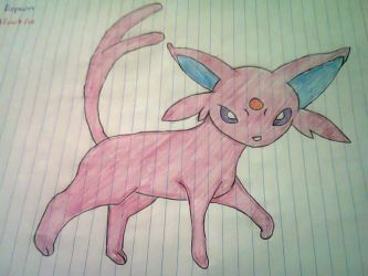 Espeon by Darkgatomon12