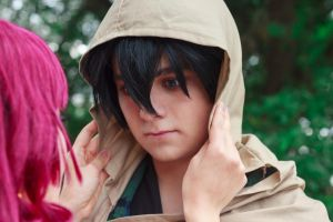 Yona Kisses Hak 4: Stunned to Silence [Cosplay] by firecloak