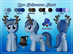 [Commission] Zo Reference Sheet by Veemonsito
