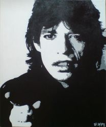 Mick Jagger by NeuroticDesignArt