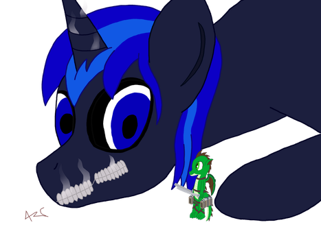 Attack on Pony by Aztec613