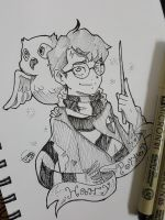 Inktober day 2: Harry potter by TomatoStyles