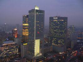 Warsaw Night 611474 by StockProject1
