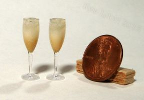 Mini Sparkling Champagne by Kyle-Lefort