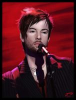 David Cook Painting 5 by Majoh