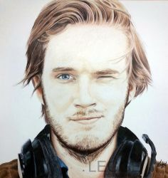 Pewdiepie by Laffeetaffee