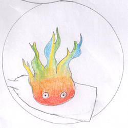 Calcifer by HookSilverSparrow
