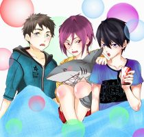 Free! Boys by HaNo0onat
