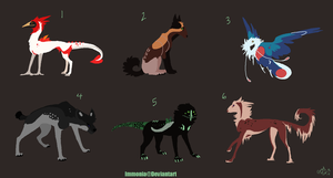 Mixed Creature Adopts 7 [Point Option Added!] by Adopt-Monstar