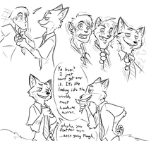 Nick Tie Cloning  by Fighting-Wolf-Fist