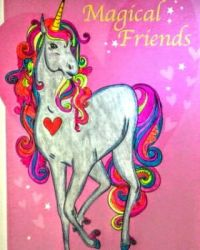 colorful unicorn by stacylyn