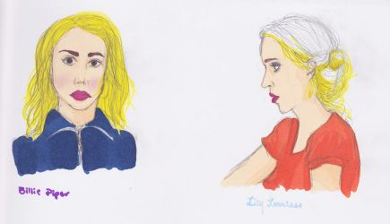 billiePiper lilyLoveless by A-Dance-In-The-Rain
