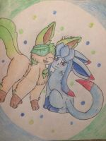 Sisterly Love -gift-  by Starry-the-Jolteon