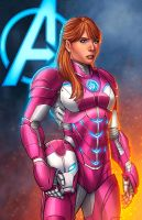 Pepper Potts - Rescue MCU by JamieFayX
