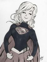 Supergirl - Chuffed as Chips to be in Injustice 2 by DisintegrationStreet